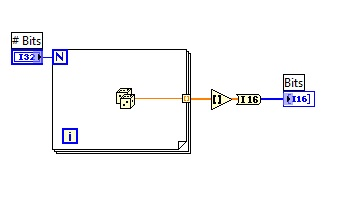 Binary number generator labview vi block diagram