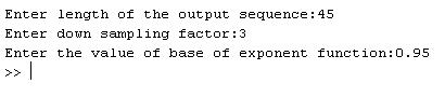 decimation input