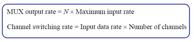 digital MUX formula