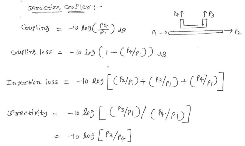 directional coupler equations
