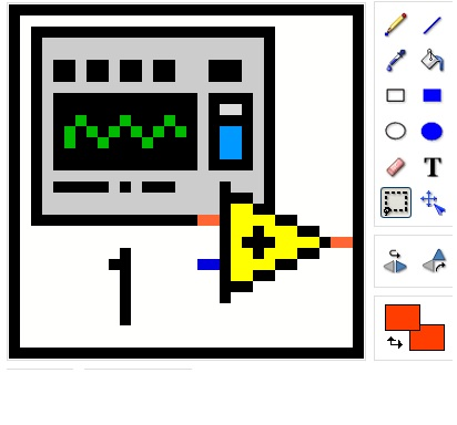 labview interview icon editor