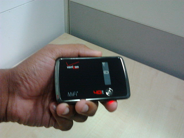 mifi hotspot device from novatel wireless