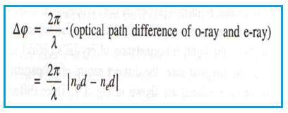 optical path difference