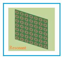 resonant metamaterial