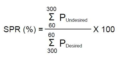 sector power ratio equation