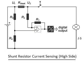 shunt resistor current sensing