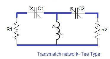 transmatch impedance matching circuit