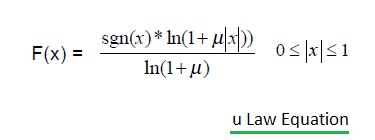 u-law equation