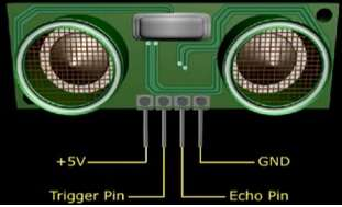 ultrasonic sensor pin diagram