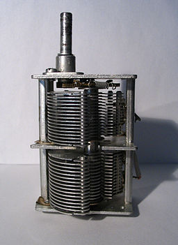 air variable capacitor