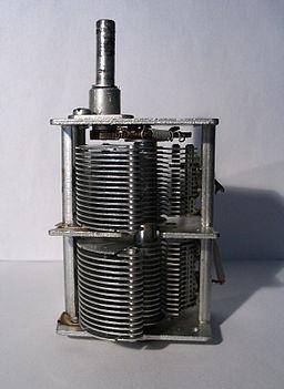air variable capacitor