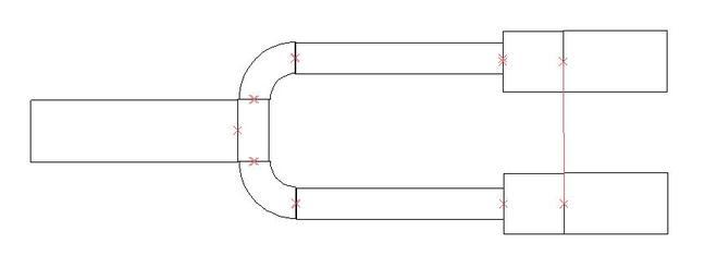 wilkinson rf power splitter layout