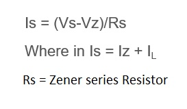 zener diode calculator equation,formula